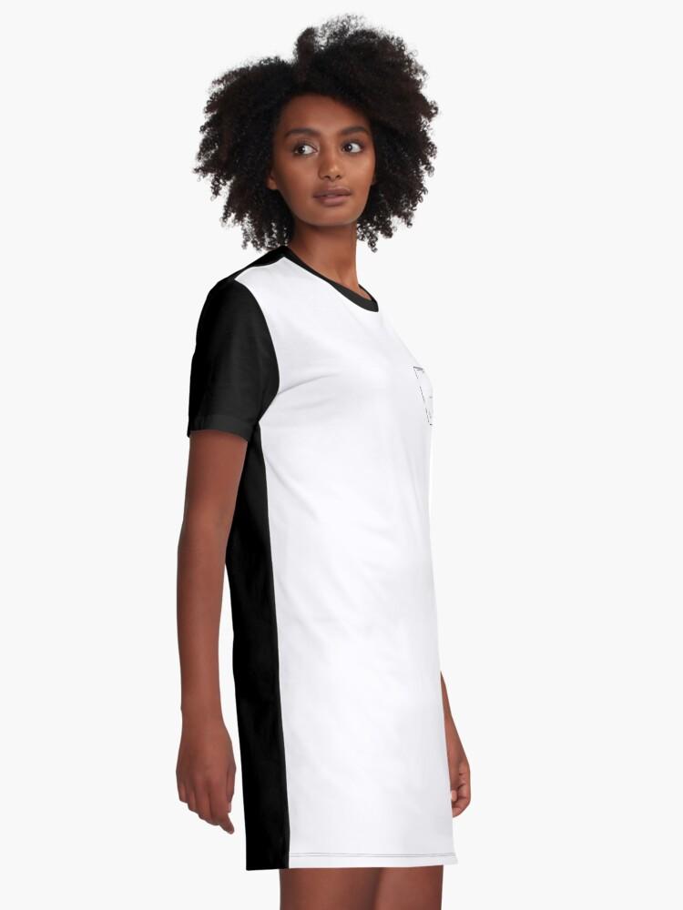 Alternative Ansicht von Der Shrimp in der Tasche T-Shirt Kleid