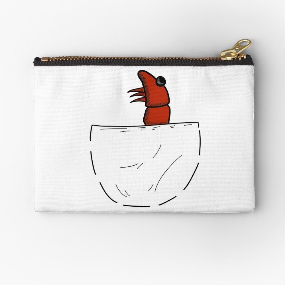 Der Shrimp in der Tasche Täschchen