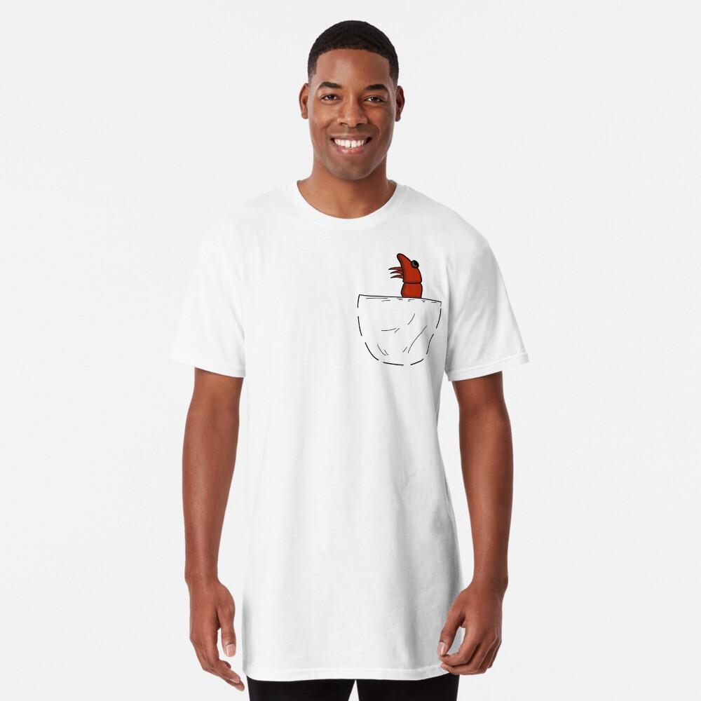 Der Shrimp in der Tasche Longshirt