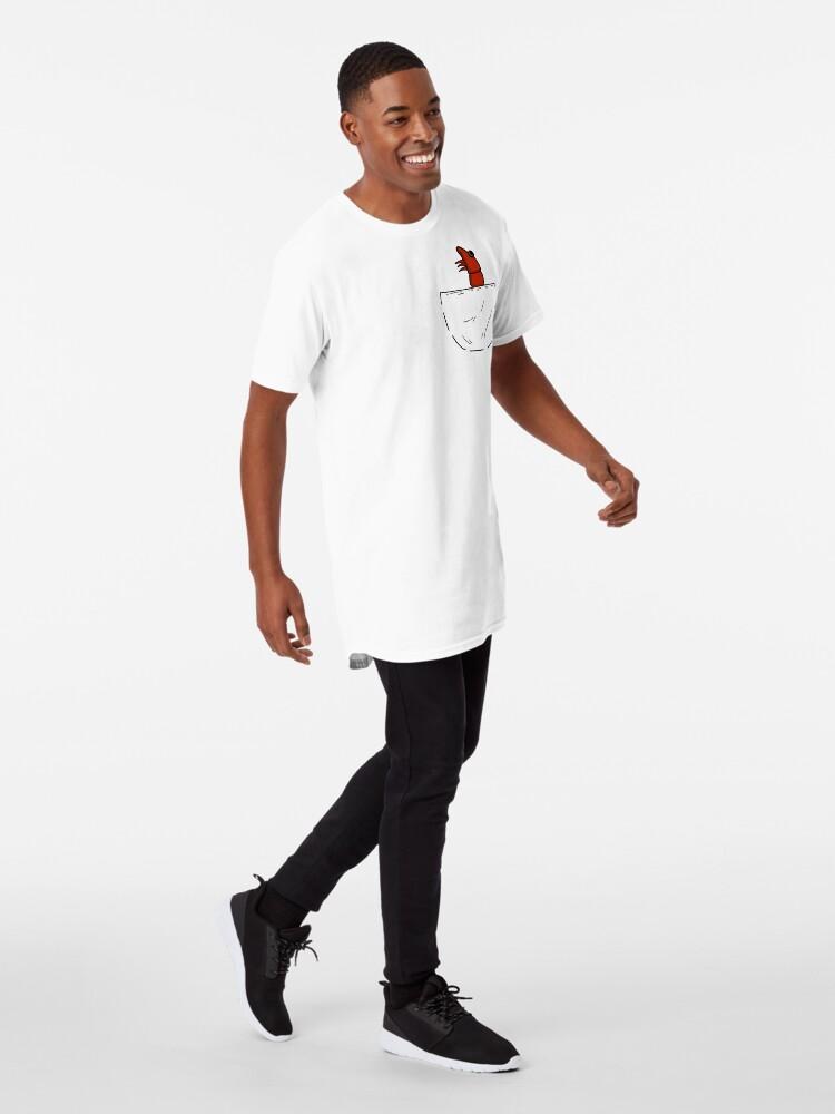 Alternative Ansicht von Der Shrimp in der Tasche Longshirt