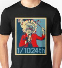 Elizabeth Warren Native American Percentage Unisex T-Shirt