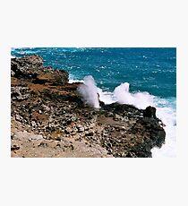 Nakalele Blowhole Photographic Print