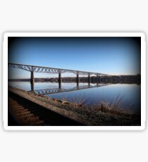 Hudson River Morning Span Sticker