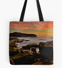 Turimetta on Fire Tote Bag