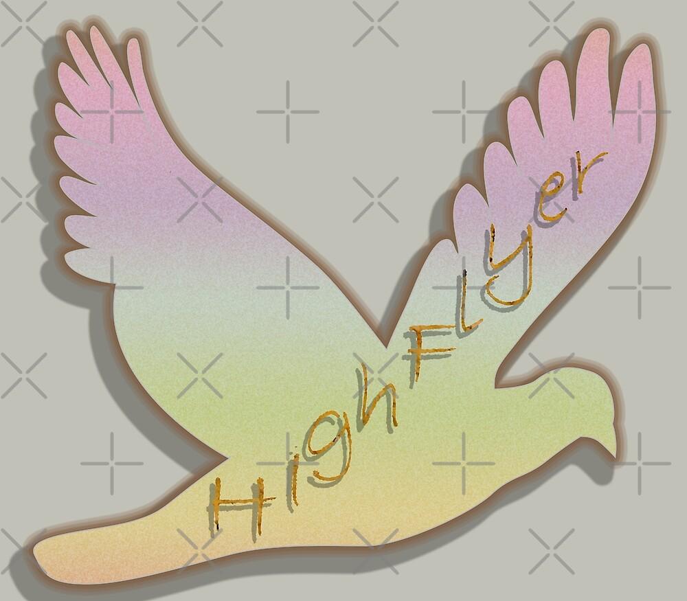 A High Flyer Bird by SiobhanFraser