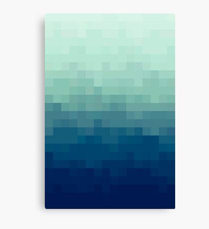 Azul degradado Lienzo