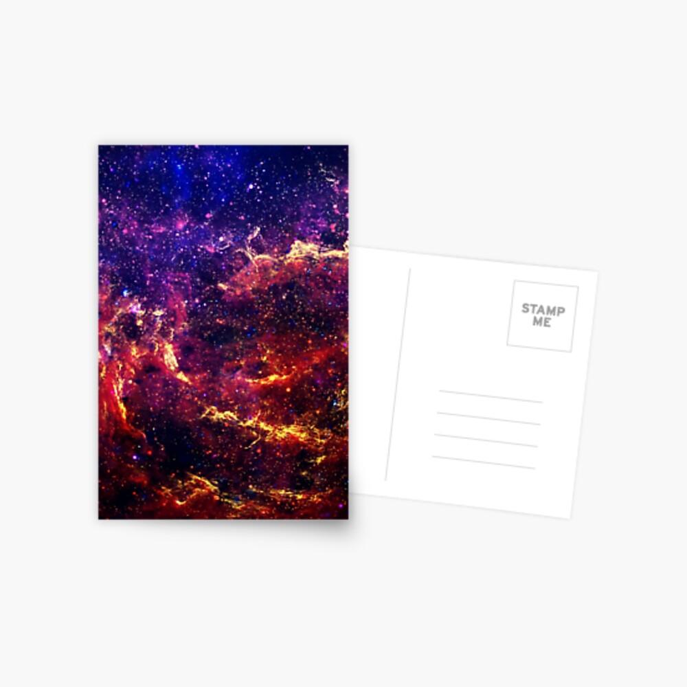 Galaxis Postkarte