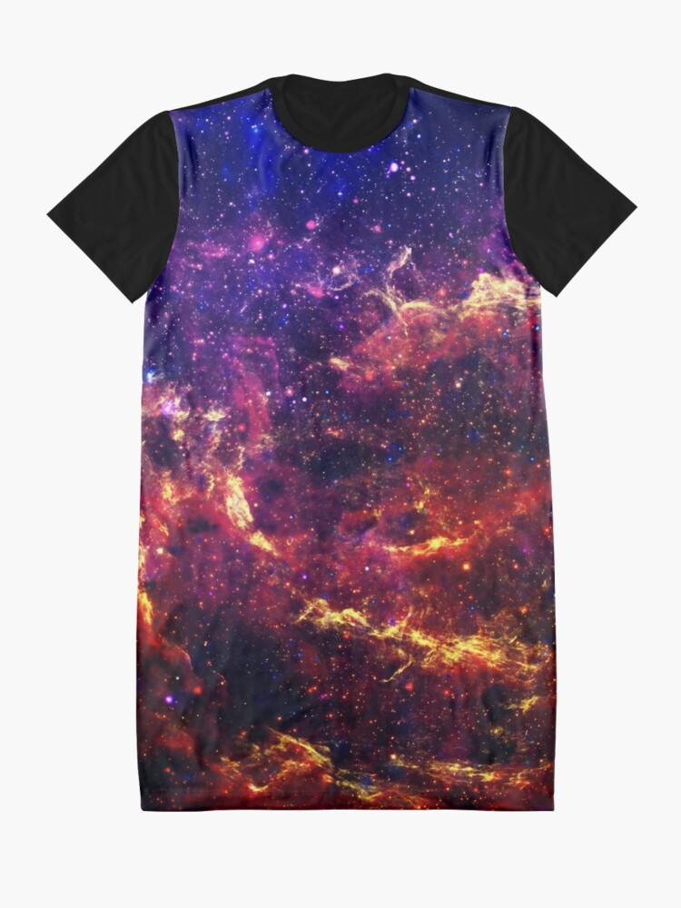 Alternate view of Galaxy Graphic T-Shirt Dress