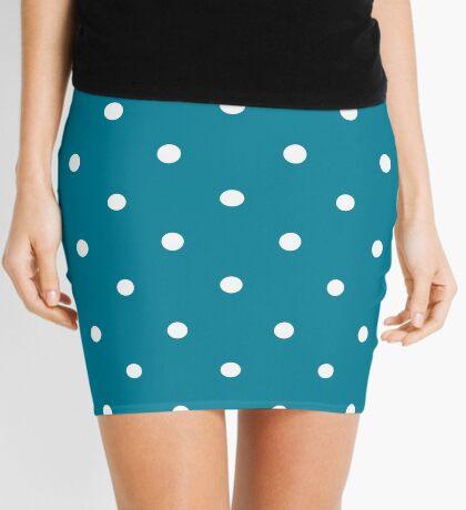 Lunares - Azul Minifalda