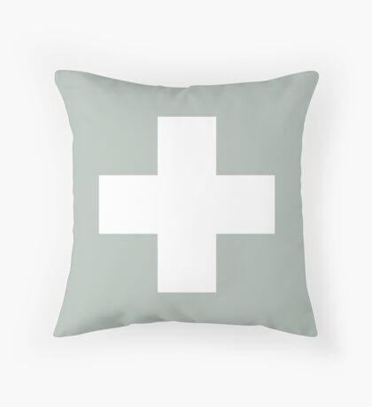 Ceniza suiza de la cruz Cojín de suelo
