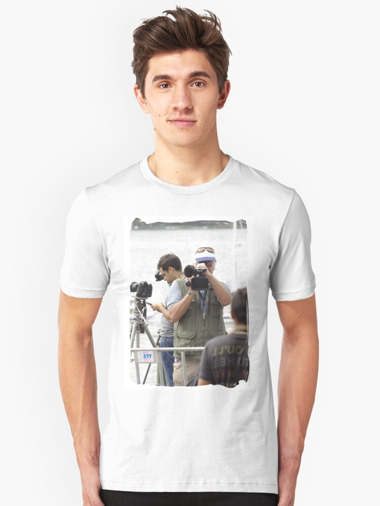 Here's looking at you kid T-Shirt Unisex T-Shirt Front