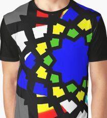 Estrella,  policromia 01 Camiseta gráfica