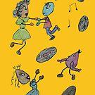 Dancing Eggs by Linda Miller Gesualdo