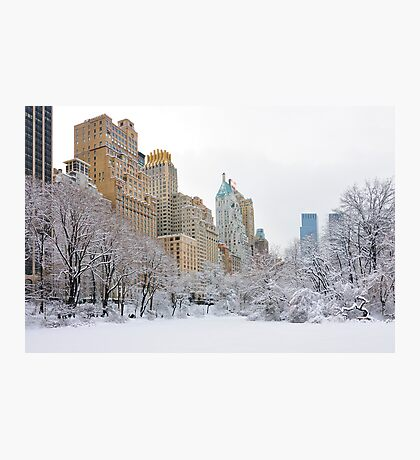 Central Park South - New York Photographic Print