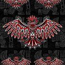 Eagle Tattoo Style Haida Art by BluedarkArt