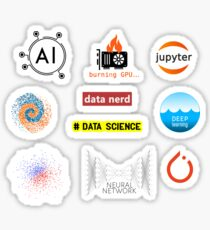 Maschinelles Lernkit Sticker