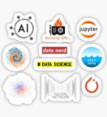 machine learning kit  Sticker