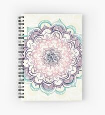 Mermaid Medallion Spiral Notebook