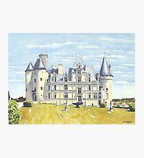 Château, La Rochefoucauld, France Photographic Print