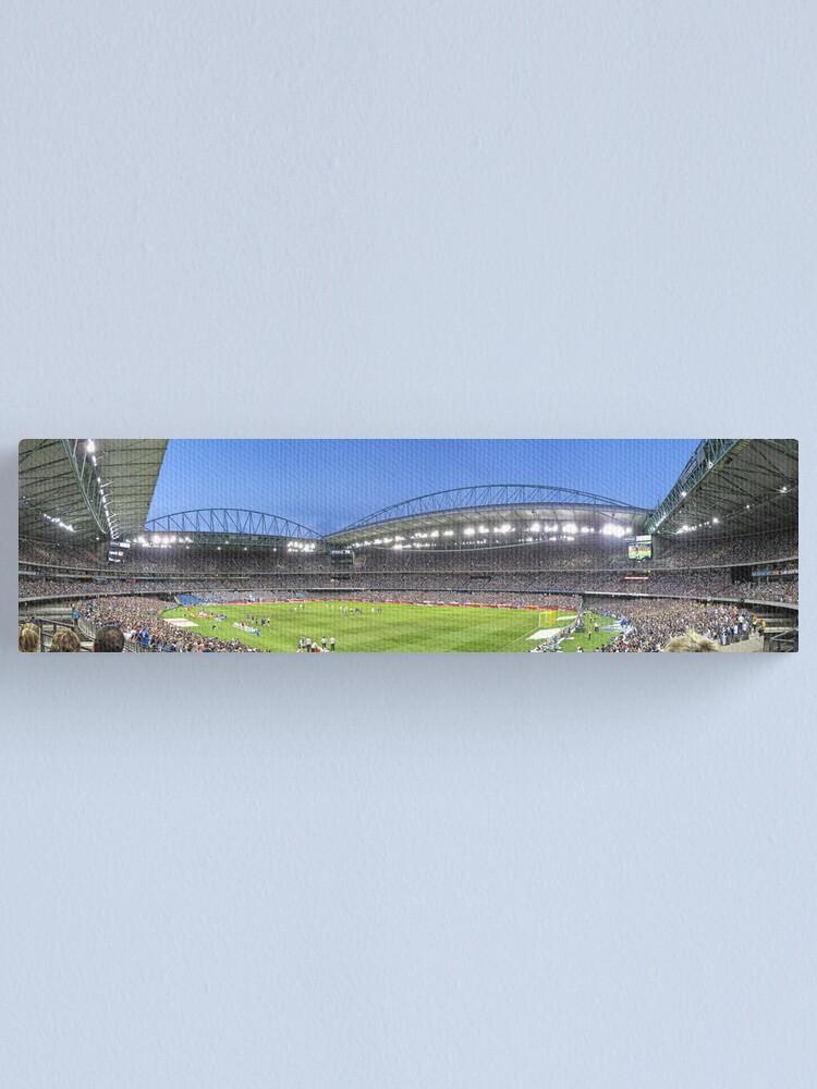 Alternate view of Etihad Stadium Melbourne Australia Canvas Print