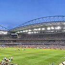 Etihad Stadium Melbourne Australia by sparrowhawk