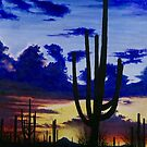 Lone Saguaro by Scott  Nordstrom