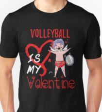 Volleyball ist mein Valentinsgruß-Shirt Slim Fit T-Shirt