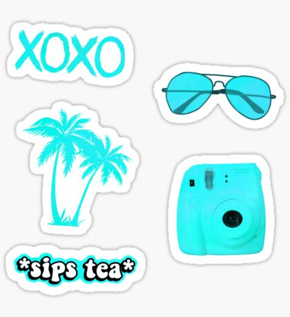 Tropical Pack Sticker