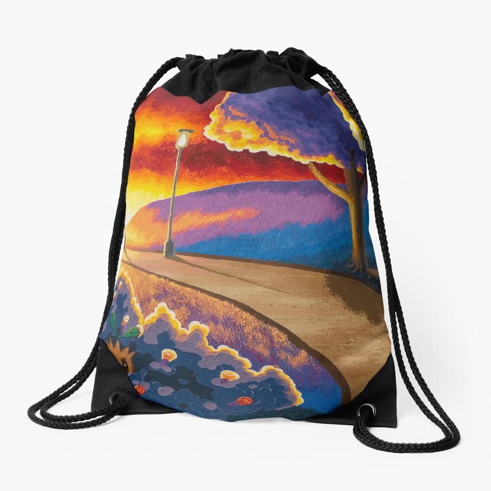 National Park Drawstring Bag
