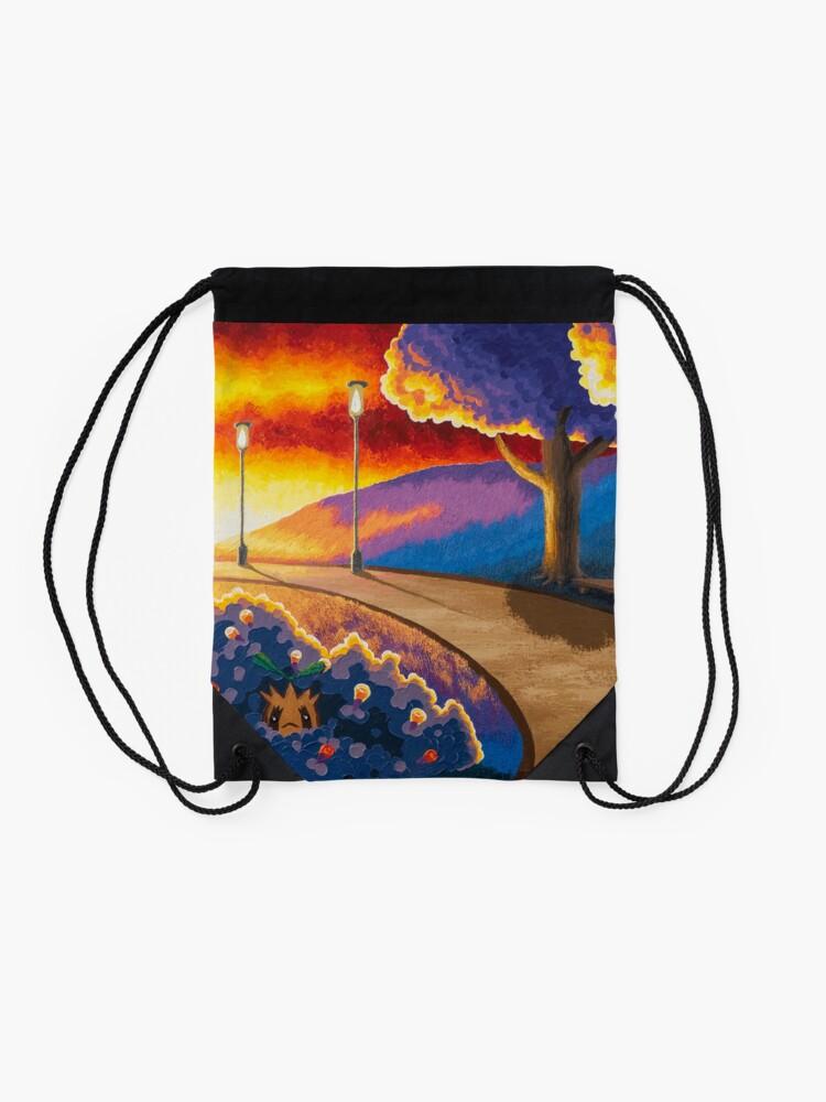 Alternate view of National Park Drawstring Bag