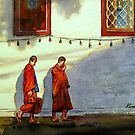 18-06-10 Beloved Thailand : ไทยนี้รักสงบ (Watercolor : 27x37cm.) by BuaS