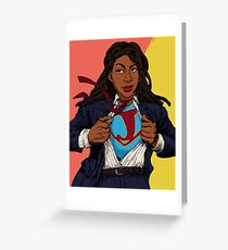the heroes we deserve - Jessica Williams Greeting Card