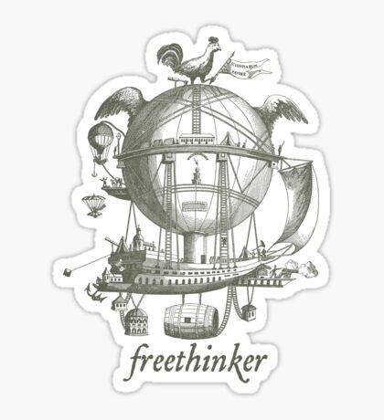 Freethinker Sticker