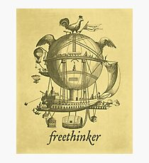 Freethinker Photographic Print