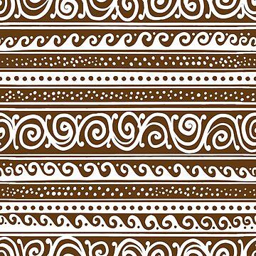 Ethnic pattern by Kudryashka