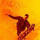 Heat of Skateboard by leandrojsj