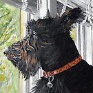 Squirrel Watch by Jim Phillips