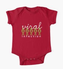 viral infection Short Sleeve Baby One-Piece