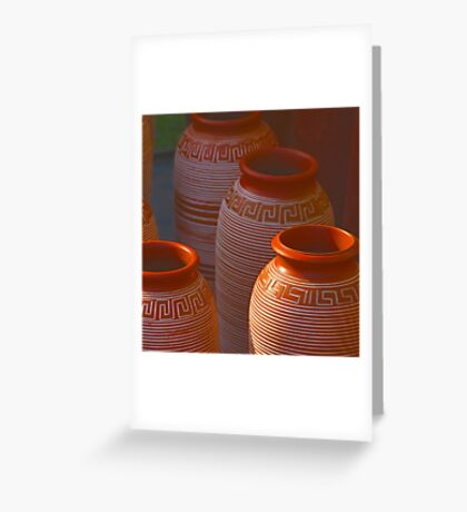 India Earthen Pottery#2 Greeting Card