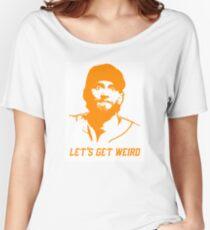 """""""Let's Get Weird"""" - Hunter Pence Women's Relaxed Fit T-Shirt"""