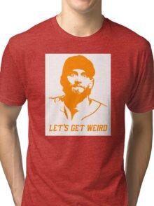 """""""Let's Get Weird"""" - Hunter Pence Tri-blend T-Shirt"""