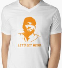 """Let's Get Weird"" - Hunter Pence Men's V-Neck T-Shirt"