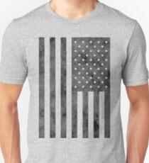 US Flag Grunge Style Unisex T-Shirt