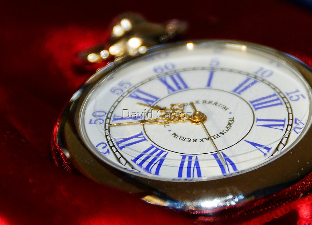 A classic timepiece by David Carton
