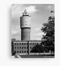 Water Tower - Kalamazoo Psychiatric Hospital Canvas Print