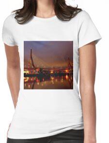 Zakim bridge Womens Fitted T-Shirt