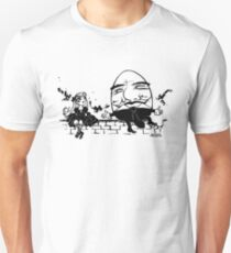 Alice and Humpty Unisex T-Shirt