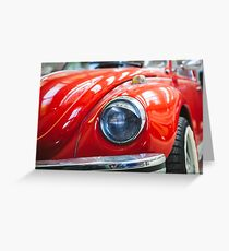 Eye of the beetle Greeting Card