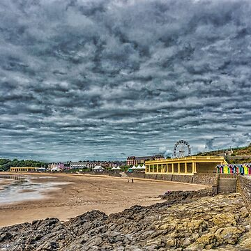 Dramatic Barry Island by silversnapper1