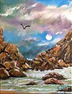 After the Storm - waterscape - nature  (ED01) by Elisabeth Dubois
